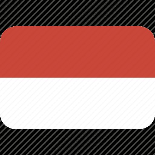 monaco, rectangle, round icon