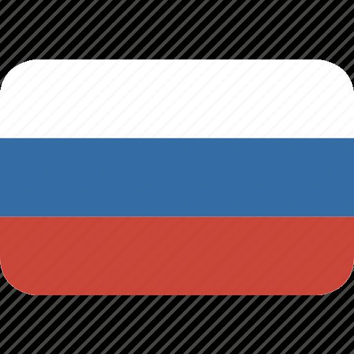 rectangle, round, russia icon