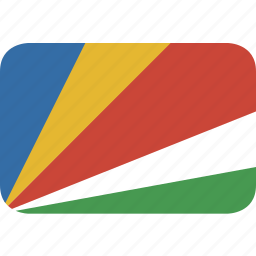 rectangle, round, seychelles icon