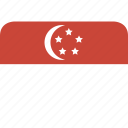rectangle, round, singapore icon