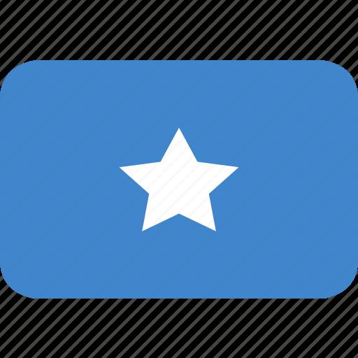 rectangle, round, somalia icon