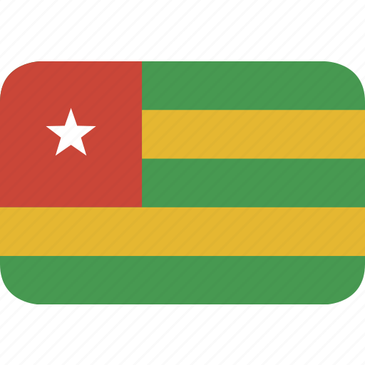 rectangle, round, togo icon