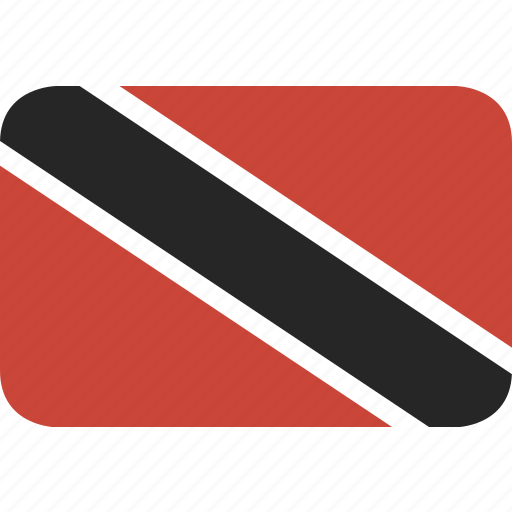 and, rectangle, round, tobago, trinidad icon