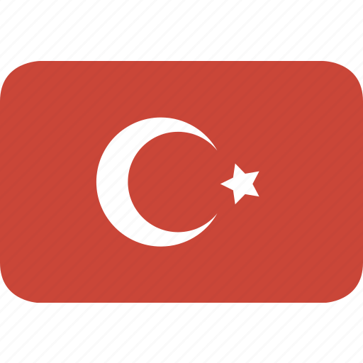rectangle, round, turkey icon