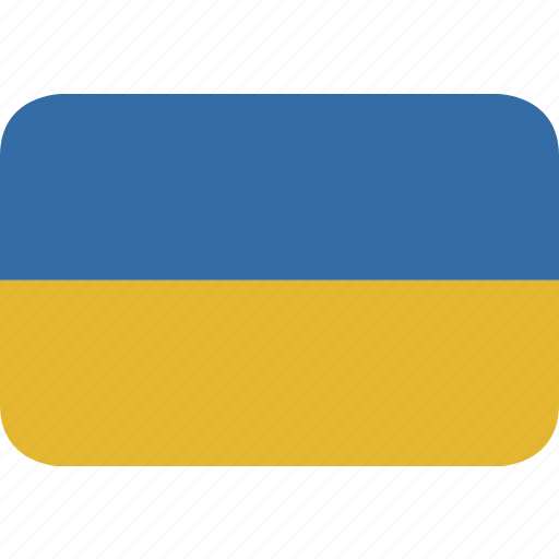 rectangle, round, ukraine icon