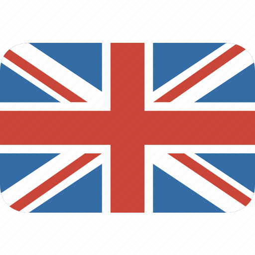 england, kingdom, rectangle, round, united icon