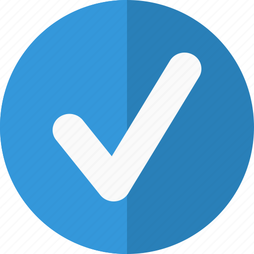 accept, action, allow, blue, check, chosen, collect, complete, correct, created, favorite, good, mark, match, ok, right, sent, submit, success, tick, v, valid, vote, yes icon