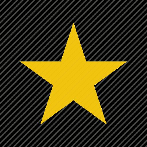 favorite, favourite, guardar, save, star icon