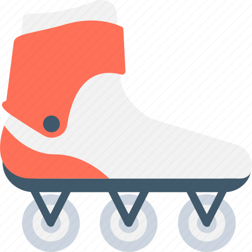 roller skates, rollerblading, skates, skates shoes, wheel shoes icon