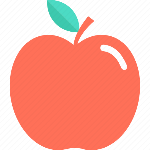 apple, diet, fruit, healthy diet, natural diet icon