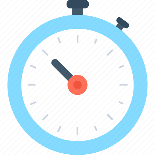 chronometer, stopwatch, time counter, timekeeper, timer icon