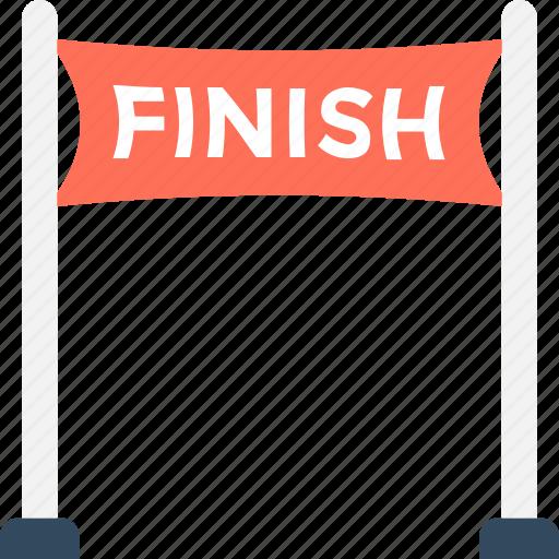 finish point, runner point, sports, winner points, winning point icon