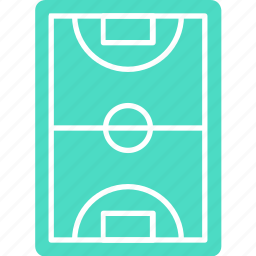 football field, football ground, football pitch, soccer field, stadium icon