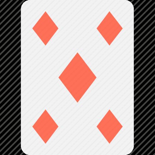 casino, casino card, diamond card, play card, poker card icon