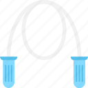 athlete rope, jump rope, jumping string, skipping, skipping rope icon