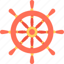 boat wheel, marine, ship steering, ship wheel, wheel icon