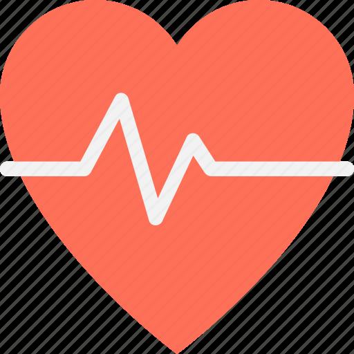 cardiology, heart, heartbeat, lifeline, pulse icon