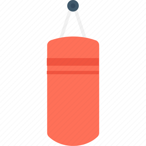 boxing, boxing training, punching bag, speed bag, sport icon