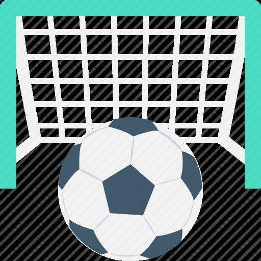 goal post, soccer goal, soccer match, soccer net, soccer stadium icon