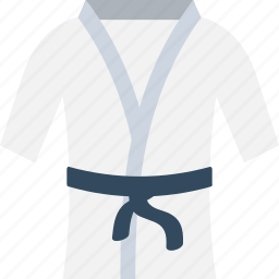 judo suits, karate clothing, karate costume, karate uniform, martial arts icon