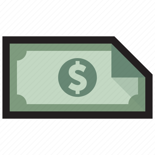 bill, cash, currency, dollar, fees, money, notes icon
