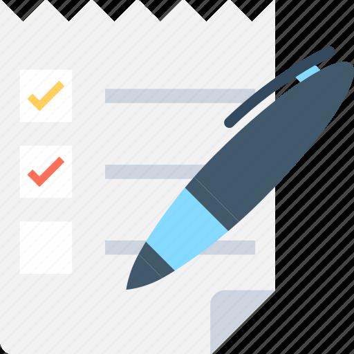 agenda, catalog, checklist, list, schedule icon