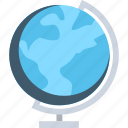 desk globe, desktop globe, globe, table globe, world map