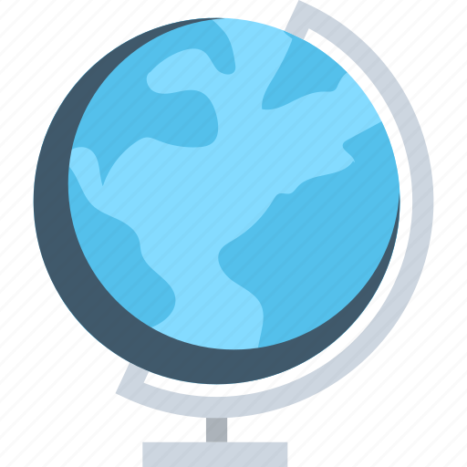 desk globe, desktop globe, globe, table globe, world map icon