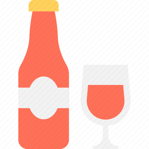 alcohol, bottle, champagne bottle, drink bottle, wine bottle icon