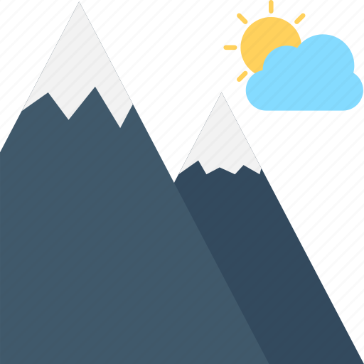 hill, hill station, landscape, mountains, nature, rocks icon