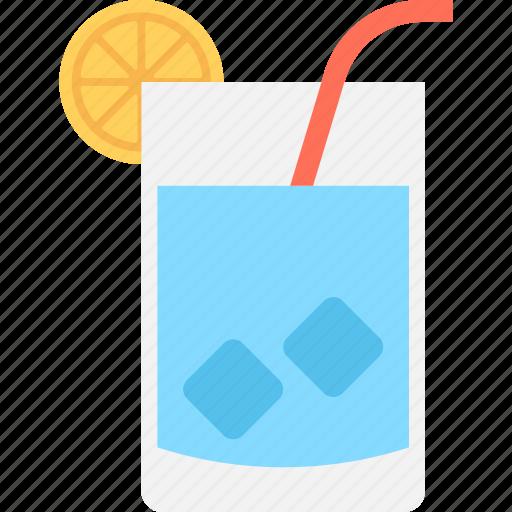 fruit drink, juice, lemonade, orange juice, orange slice icon