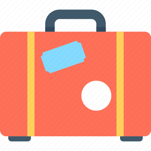 bag, suitcase, traveling bag icon