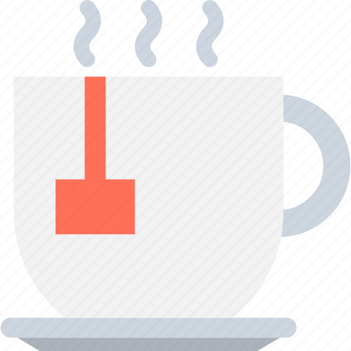 hot coffee, hot drink, hot tea, teacup icon