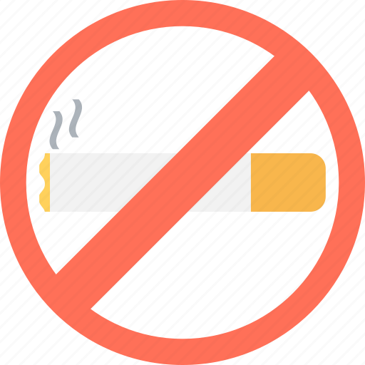 cigarette forbidden, don't smoke, no smoking, quit smoking, tobacco prohibition icon