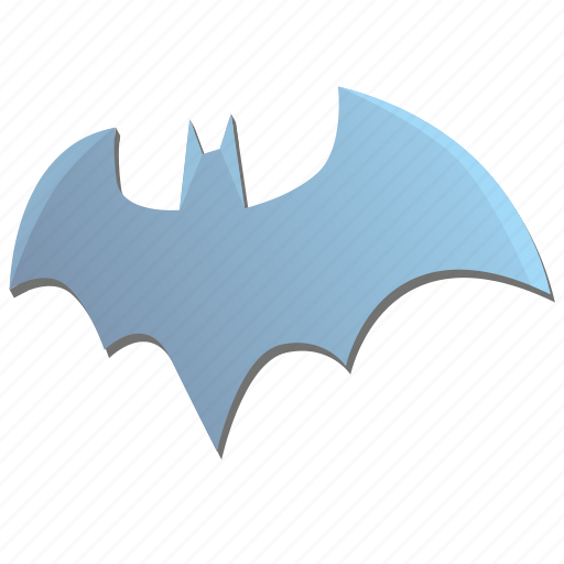 bat, batman, metal, sign icon