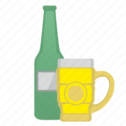 bar, beer, bocal, bottle, cup, glass icon