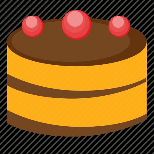 cake, cherry, eat, food, pie, sweet icon