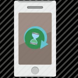 application, load, mobile, progress, time icon