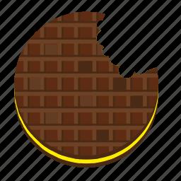 cake, eat, food, pie, round, sweet icon