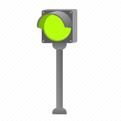 light, road, single, stand, traffic icon