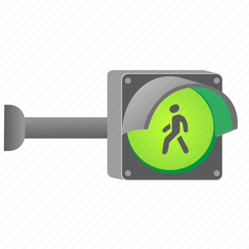 accept, direction, go, green, light, mount, traffic, wall, way icon