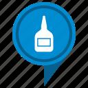 bottle, fluid, gel, glue, pointer icon