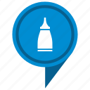 fluid, gel, glue, location, place, pointer icon