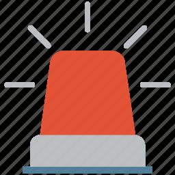 alarm, alertness, ambulance, ambulance light, emergency light, fire alarm, lighting equipment icon