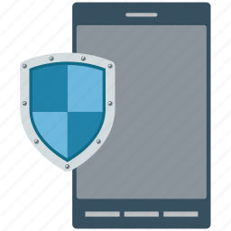 concepts, mobile, mobile internet, mobile security, protected, security, security system, shield icon