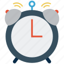 alarm, alarm clock, alert, clock, retro, time, timer, watch icon