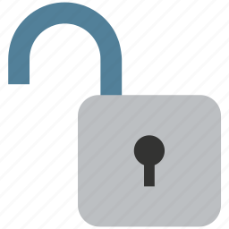 lock, lock open, lock unlock, open, padlock, unlock icon