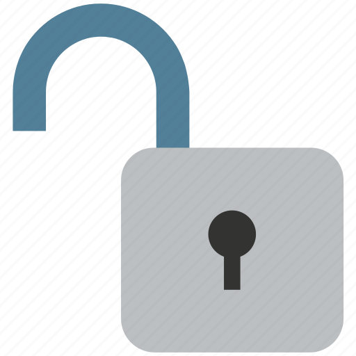 Open, lock, padlock, unlock, lock open, lock unlock icon