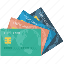 atm cards, bank cards, cards, credit cards, debit cards, money cards, plastic money, smart cards, visa card icon