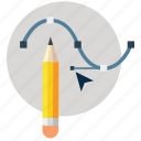 adobe, art design, curve, pen tool, photoshop, shape, tool icon
